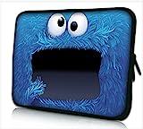 Funky 10,1-10,2 Zoll Tablet Hülle, Laptoptasche - Zoll Fall Neopren für Notebooks Dell HP MacBook Samsung Apple Toshiba (Cookie)